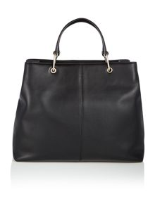 DKNY Greenwich black large pocket tote cross body bag