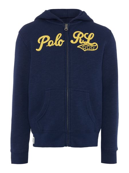 Polo Ralph Lauren Boys Polo Logo Zip Through Sweater