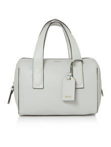 DKNY Tribca light grey large tote cross body bag