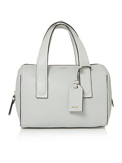 Tribca light grey large tote cross body bag