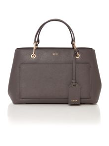 DKNY Saffinao grey small tote bag