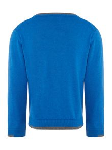 Armani Junior Boys V Neck  Jumper