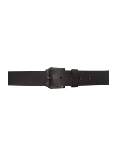 Replay Crust leather belt
