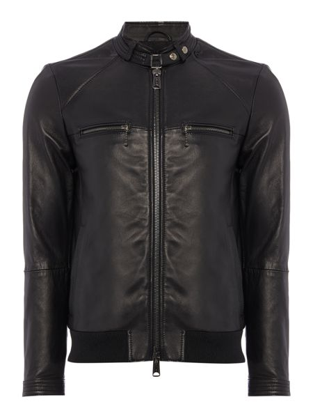 Replay Leather biker jacket