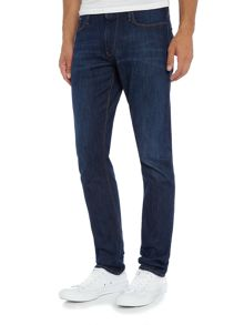 Armani Jeans J06 slim fit dark wash jeans