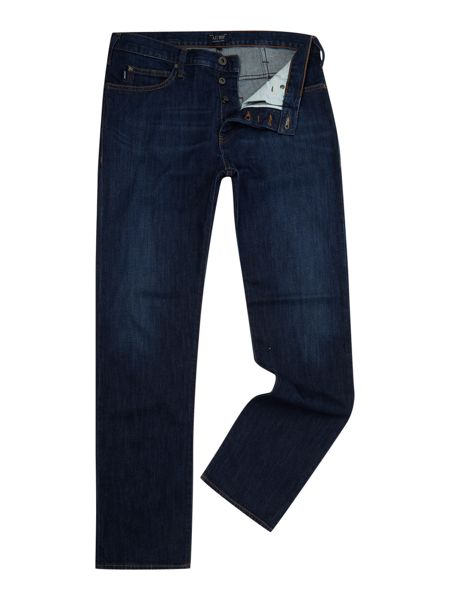 Armani Jeans J21 regular fit dark wash jeans