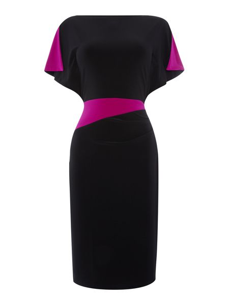 Lauren Ralph Lauren Contrast panel dress