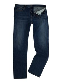 Armani Jeans J21 regular fit dark rinse jeans