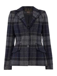 Barbour Beaman tailored check jacket