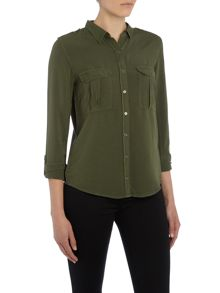 Calvin Klein Walida long sleeve pocket shirt