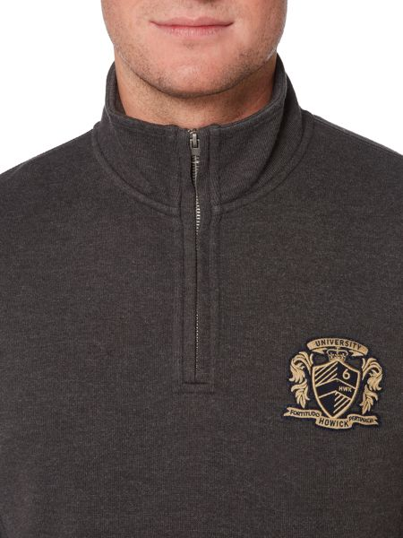 Howick Leavenworth Half Zip French Rib Pullover