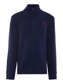 Polo Ralph Lauren Boys Half Zip Rib Jumper