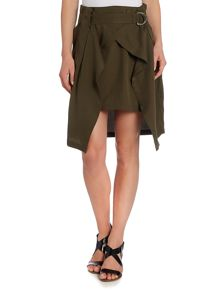 Calvin Klein LAYERED SKIRT