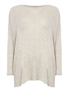 Vero Moda Long Sleeve Lightweight Oversize Knitted Jumper