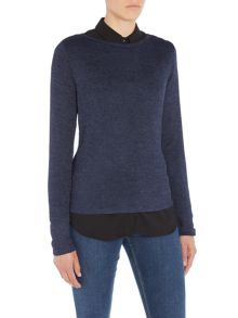 Vero Moda Long Sleeve Lightweight Knitted Jumper