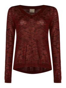 Vero Moda Knitted V-Neck Jumper