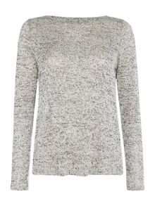 Vero Moda Long Sleeve Split Back Jumper