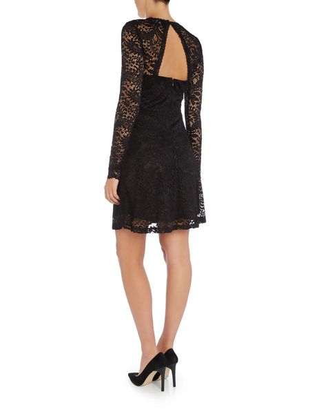 Vero Moda Long Sleeve Lace Dress