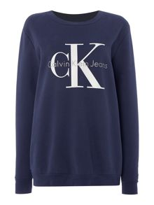 Calvin Klein Crew Neck Re Issue logo sweat