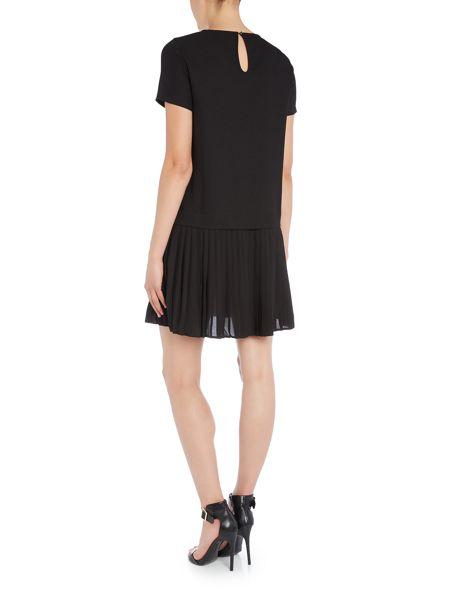 Vero Moda Short Sleeve Pleated Dress