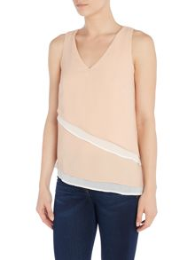 Vero Moda Short Sleeve Layered Top