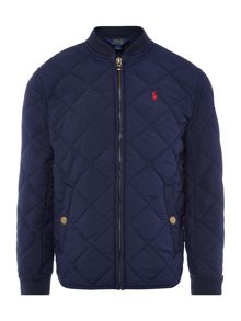Polo Ralph Lauren Boys Quilted Baseball Jacket