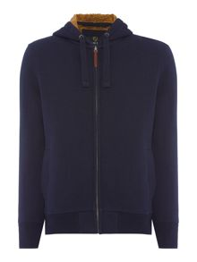 Howick Hansard Borg Lined Zip Through Hoodie