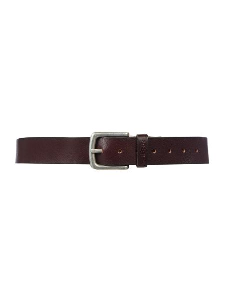 Barbour Leather Grain Belt
