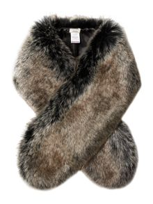 Linea Faux Fur Slot Through