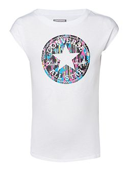 Girls Star Logo T-shirt