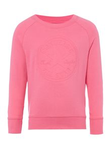 Converse Girls Embossed Chuck Patch Sweat