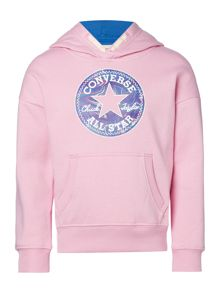 Converse Girls Printed Chuck Hooded Sweat