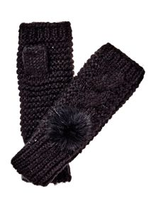 Therapy Sequin Pom Glove