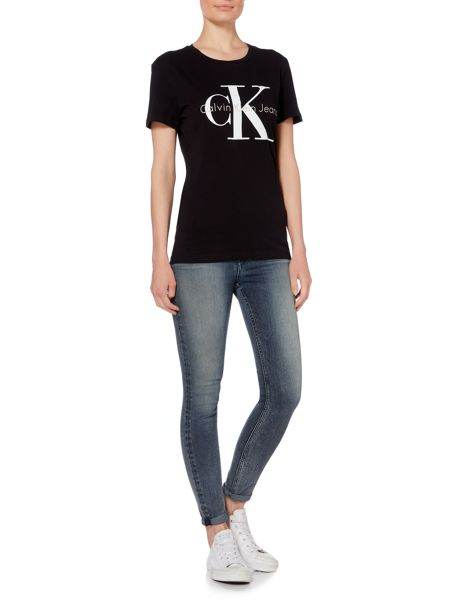 Calvin Klein Short sleeve skrunken re-issue tee
