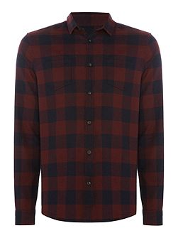 Byrant Herringbone Check Shirt