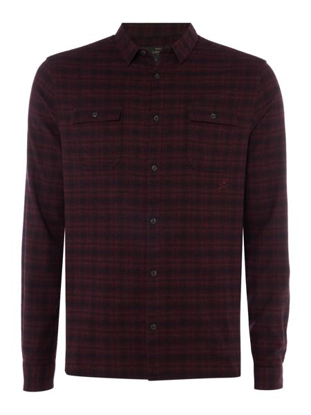 Label Lab Nuland Plaid Broken Check Shirt