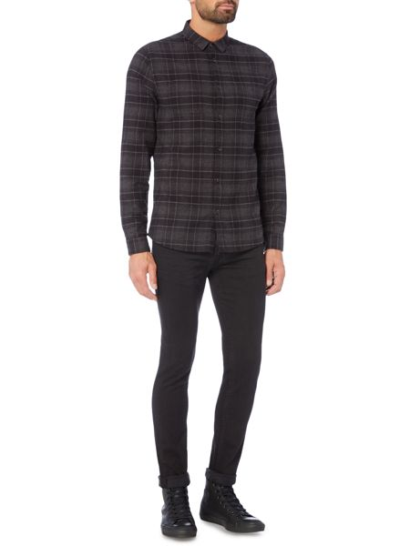 Label Lab Taylor Brushed Check Shirt
