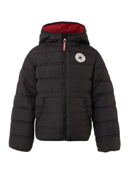 Converse Boys Packable Padded Hooded Jacket