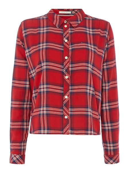 Tommy Hilfiger THDW Basic Flannel Check Shirt