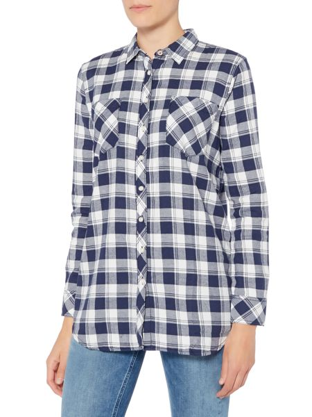 Tommy Hilfiger THDW Basic Flannel Check Shirt 12