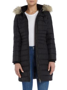 Tommy Hilfiger THDW Basic Long Down Coat