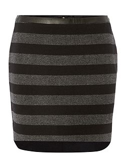 THDW Short Stripe Skirt