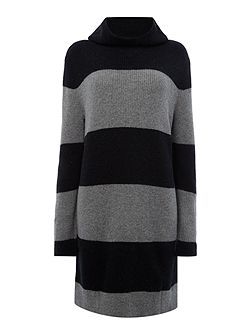 THDW Basic Stripe Sweater Dress