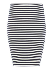 Tommy Hilfiger THDW Stripe Bodycon Skirt