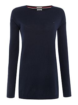 THDW Basic Scoop Neck Sweater