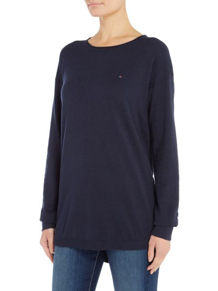 Tommy Hilfiger THDW Basic Scoop Neck Sweater