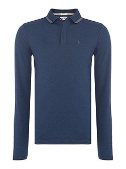 THDM Long Sleeve Polo Top