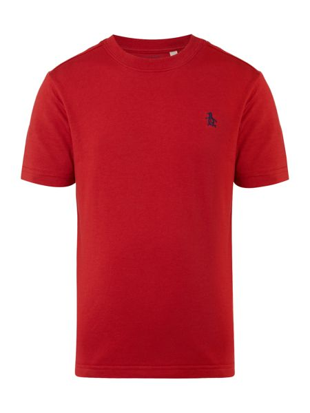 Original Penguin Boys Solid Crew Neck T-Shirt