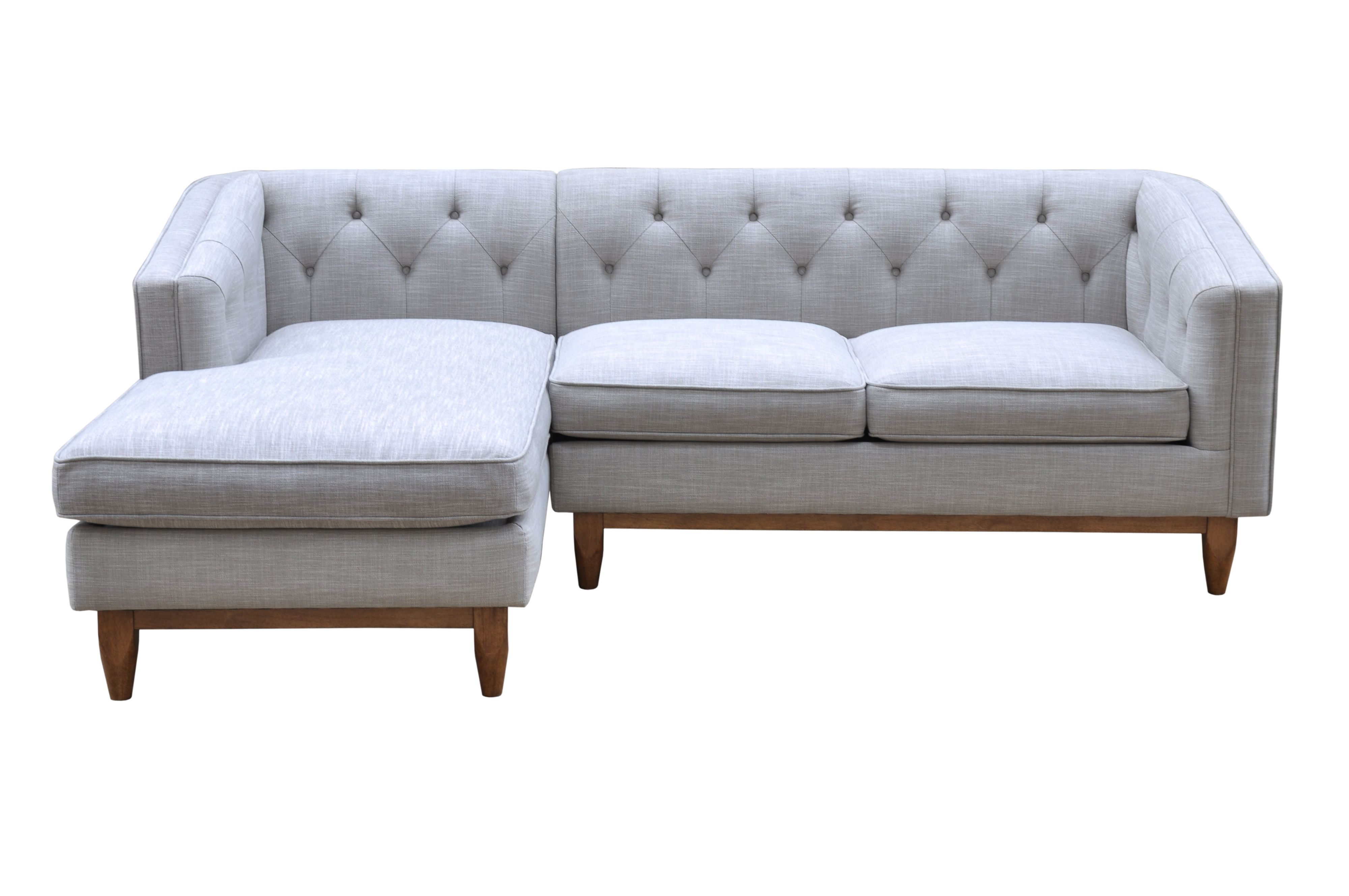 Living by Christiane Lemieux Living by Christiane Lemieux George LHF Chaise Sofa in Austria Shell