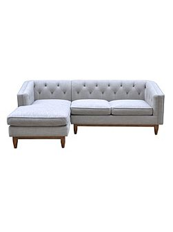 George LHF Chaise Sofa in Austria Shell